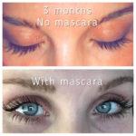 hairgenics lavish lash before and after