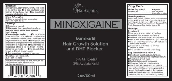 Minoxigaine by Hairgenics